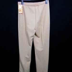 Sears Vtg 70s Pants High Waist 16 Tall Beige